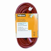 Indoor/Outdoor Heavy-Duty 3-Prong Plug Extension Cord, 1 Outlet, 50-Ft.
