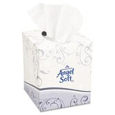 Angel Soft Ps Premium Facial Tissue In Cube Box, 96/Box, 36 Boxes/Carton