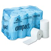 Compact Coreless Bath Tissue in White