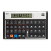 "Financial Calculator, 5-1/10""x3-1/10""x3/5, Platinum"