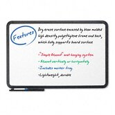 Ingenuity Dry Erase Board, Resin Frame With Tray, 66 X 42