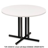 "Officeworks 36"" Round Conference Table Top, Square Edge"