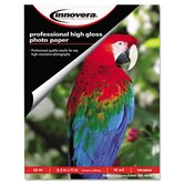 High-Gloss Photo Paper, 50 Sheets/Pack