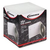 Slim CD Case, 25/Pack