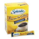 Splenda French Vanilla Sweetener, No Calorie, 30/BX