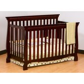 Venetian 4 in 1 Fixed Side Convertible Crib in Cherry