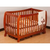 Monza II Fixed Side Convertible Crib in Cognac