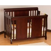 Verona Fixed Side Convertible Crib in Cherry