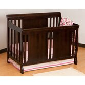 Verona Fixed Side Convertible Crib in Espresso