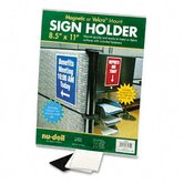 Nudell Plastics Sign Holders