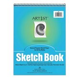 Sketch Book, Acid-free, Medium Weight, 9&quot;x12&quot;, 30 Sheets