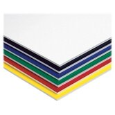 "Foam Board, 3/16"" Thick, 20""x30"", 10/CT, Assorted"