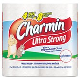 Charmin Ultra Soft Big Roll Bath Tissue, 4/Pack