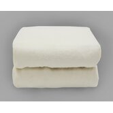 Tadpoles Organics Portacrib Fitted Sheets in White (Set of 2)