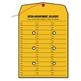 Brown Kraft String &amp; Button Box-Style Interoffice Envelope, 10 x 13, 100/box