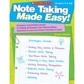 Note Taking Made Easy Gr 5 & up