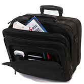 Ballistic Computer / Business Case in Black on Wheels