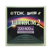 0.5&quot; Ultrium Lto-2 Cartridge, 1998Ft, 200Gb Native/400Gb Compressed Capacity
