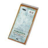 Second Nature Spiral Reporter/Steno Notebook, Gregg Rule, 70-Sheet