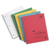 Kraft Subject Notebook, College Rule, 100 Sheets