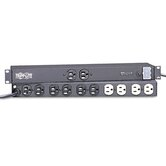 Isobar ultra 12-outlet surge protector, 15' cord/1280 joules/rack-mount, black
