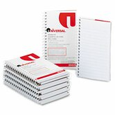 Wirebound Memo Book, 12 50-Sheet Pads/Pack
