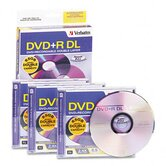 Dual-Layer Dvd+R Discs, 8.5Gb, 2.4X, 3/Pack