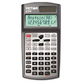 V34 Advanced Scientific Calculator w/ 2-Line Scrolling LCD Display, Black/Gray