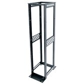 R4 Series 30&quot; D Four Post Open Frame Rack with 12-24 Threaded Rackrail