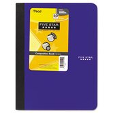 Composition Book, College Rule, 9-3/4 X 7-1/2, 1 Subject 100 Sheets