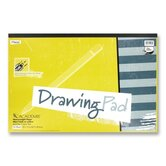 Drawing Pad, Heavy Weight, 12&quot;x18&quot;, 24 Sheets White