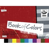 48 Sheet 18&quot; x 12&quot; Academie Book Of Colors Construction Paper