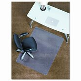 45X53 Lip Chair Mat, Professional Series Anchorbar For Carpet Up To 3/4""