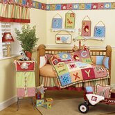 Alphabet Soup Crib Bedding Collection
