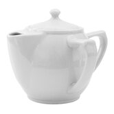 Dignity Two Handled Teapot in White