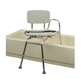 Transfer Bench with Molded Swivel Seat and Back
