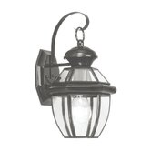 Monterey  Outdoor Wall Lantern in Black