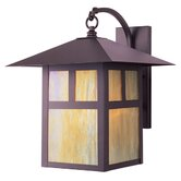 Montclair Mission  Outdoor Wall Lantern in Bronze