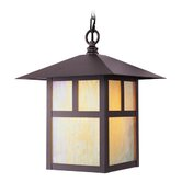 Montclair Mission  Outdoor Hanging Lantern in Bronze