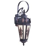 Berkshire  Outdoor Wall Lantern in Bronze