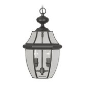 Monterey Outdoor Hanging Lantern in Black