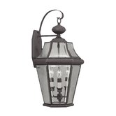 Georgetown  Outdoor Wall Lantern in Bronze