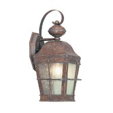 Nantucket Outdoor Wall Lantern in Burl