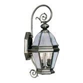 Bradford Outdoor Wall Lantern in Vintage Pewter