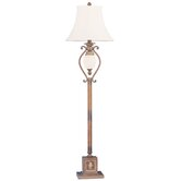 Savannah  Floor Lamp in Venetian Patina