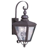 Cambridge Outdoor Wall Lantern in Bronze