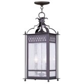 Westfield Outdoor Hanging Lantern in Bronze