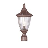 Townsend Outdoor Post Lantern in Imperial Bronze