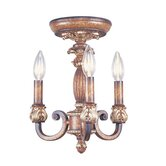 Savannah 3 Light Convertible Pendant