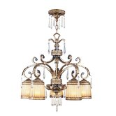 La Bella 5 Light Chandelier